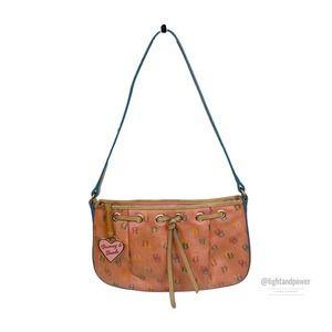 Dooney & Bourke Pink Logo Mini Shoulder BagEUC